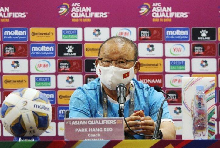 HLV Park Hang-seo: Các cầu thủ đã làm tốt nhất nhiệm vụ của mình