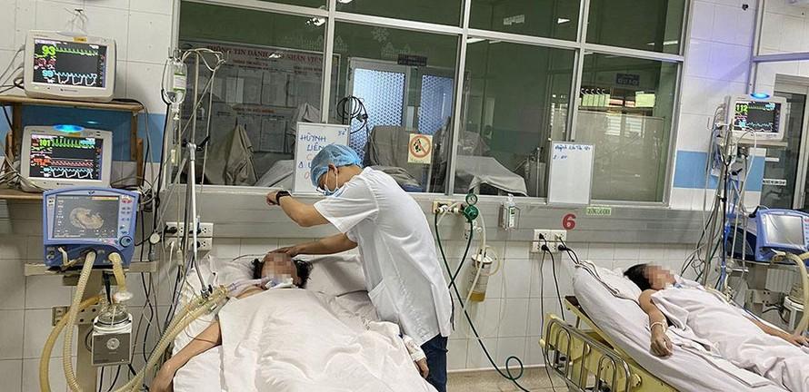 Thêm nhiều bệnh nhân suy hô hấp vì pate chay