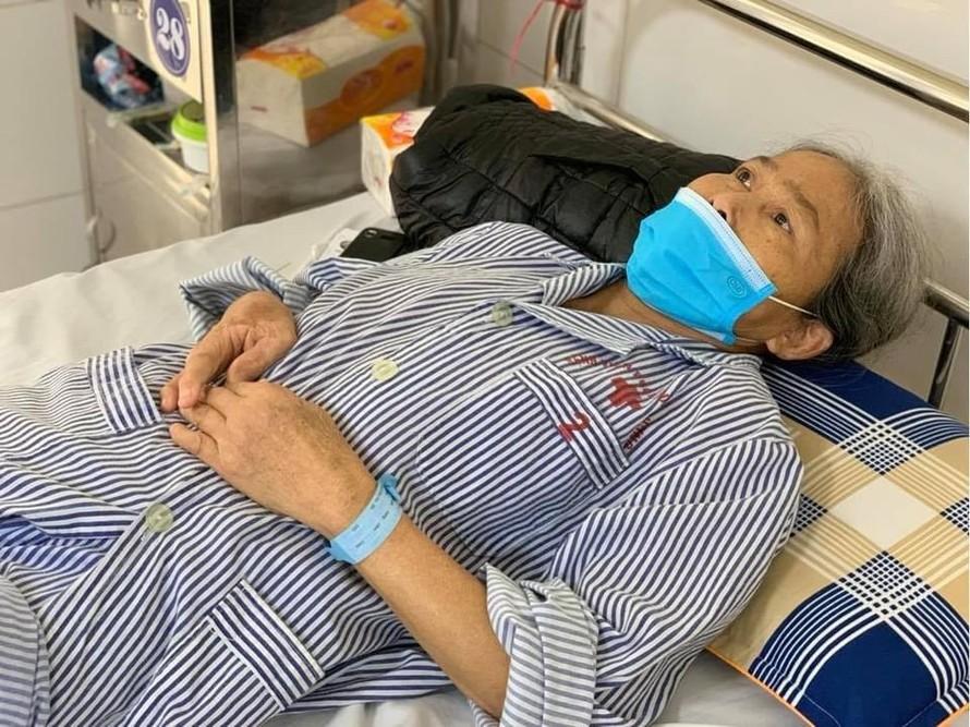 Bệnh nhân H.T.TH hồi phục tốt sau phẫu thuật thay khớp gối