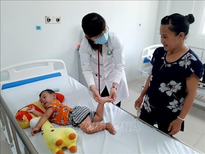 Xuất hiện các ca bệnh tay chân miệng dưới 4 tháng tuổi
