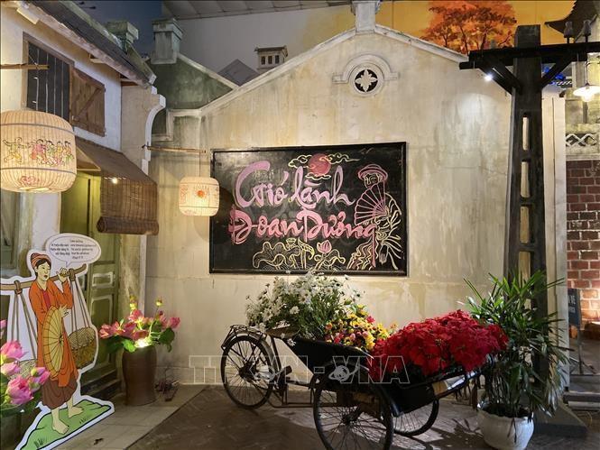 Tổ chức 'Tết Đoan Ngọ online' tại Hoàng thành Thăng Long