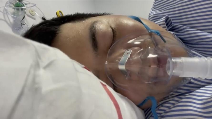 Phóng viên Phúc Nghĩa đang được điều trị Covid tại UAE