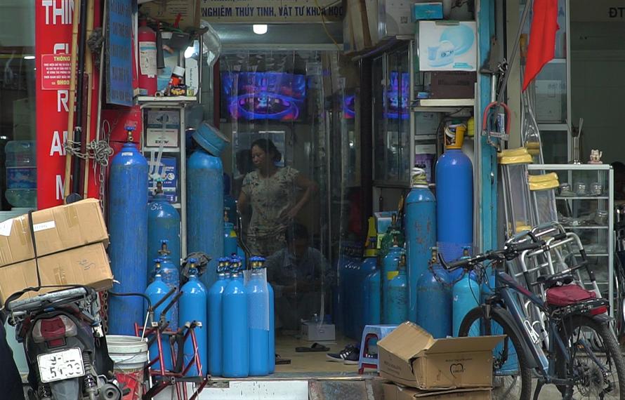 Trong trường hợp hình dịch bệnh có thể xấu hơn, Việt Nam có đủ oxy y tế
