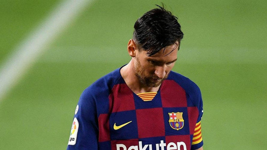 Barcelona 'mất' Messi sau hơn 20 năm gắn bó