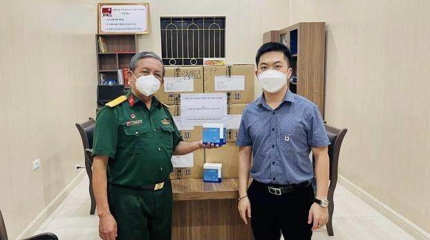 Doanh nghiệp tại Hà Nội gửi tặng miễn phí sản phẫm hỗ trợ điều trị cho các F0 trên toàn quốc