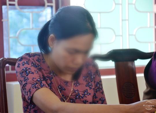 Cô L.Th.H hối hận vì lỡ tay tát học sinh