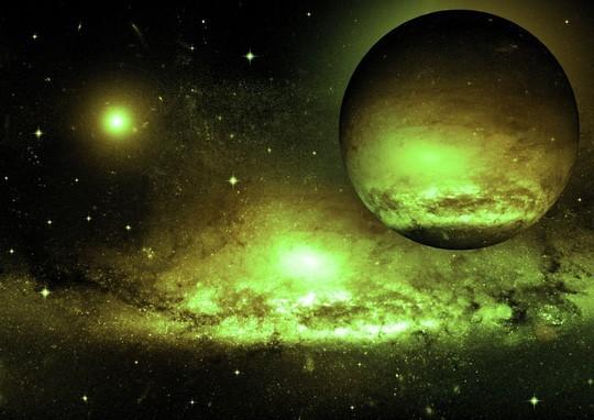 Phosphine nếu được tìm thấy ở một ngoại hành tinh xa xôi, đó sẽ là bằng chứng rõ ràng về các sinh vật sống - ảnh minh họa từ Shutterstock