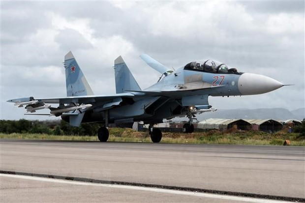Các máy bay Nga phải cất cánh để chặn không cho máy bay nước ngoài xâm phạm không phận Nga. (Nguồn: AFP/TTXVN)