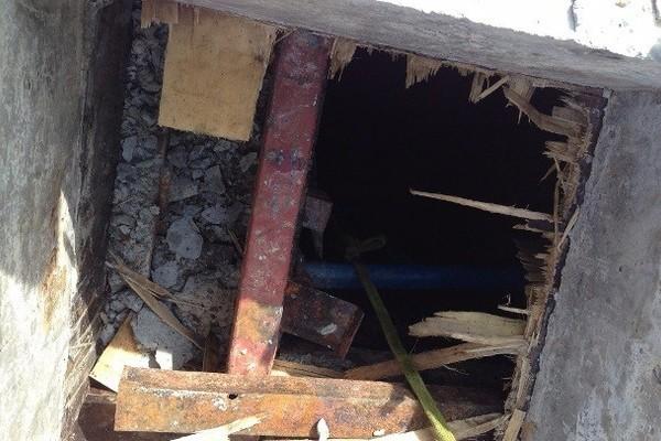 2 công nhân dỡ cốt pha dưới tầng hầm chết do ngạt khí. - Ảnh minh họa