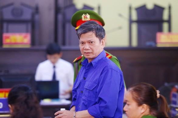 Bị cáo Lò Văn Huynh tại phiên tòa sáng 16-9 - Ảnh: Tuổi Trẻ