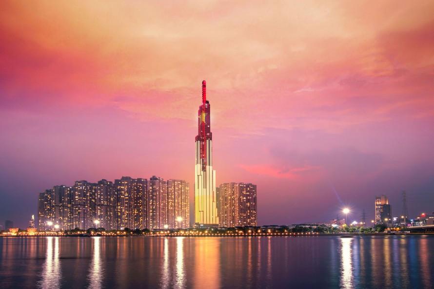 Khách sạn cao nhất Đông Nam Á vươn tầm với dấu ấn thế giới với vị trí và tầm cao đặc biệt