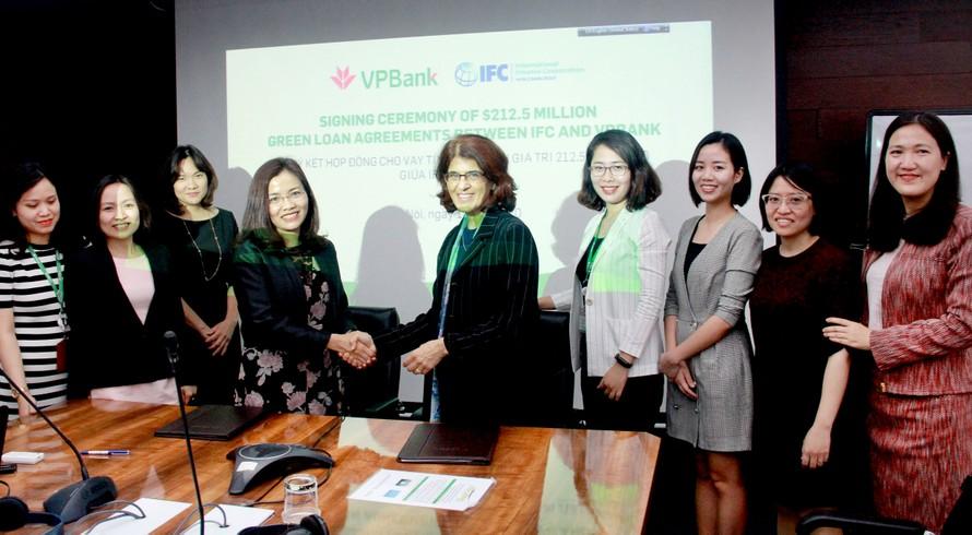 VPBank ký kết với IFC và các tổ chức tài chính quốc tế