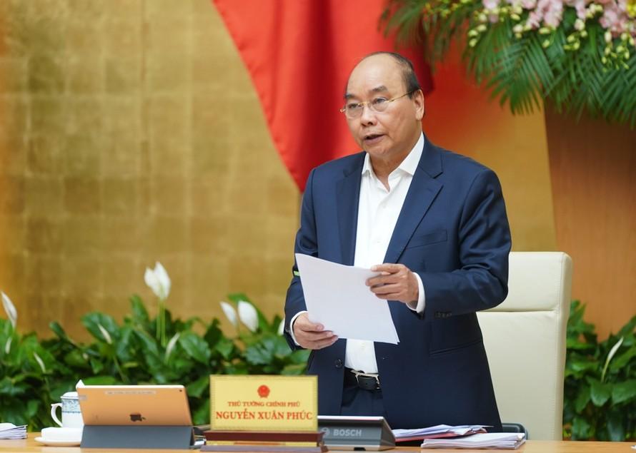 Thủ tướng Nguyễn Xuân Phúc vừa phê duyệt Danh sách thành viên Ban Chỉ đạo 896. - Ảnh: VGP