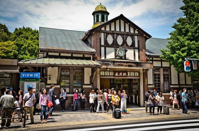 Công trình nhà ga JR Harajuku mới khai trương