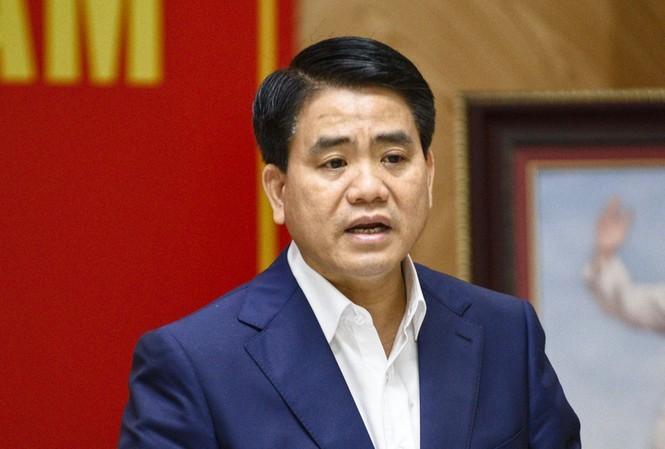 Ông Nguyễn Đức Chung - Chủ tịch UBND TP Hà Nội