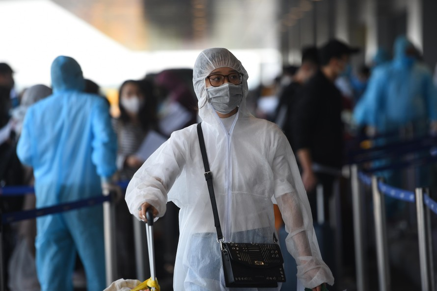 Trong gần 2 tháng qua, sân bay Vân Đồn đã đón hơn 3.500 đồng bào về nước