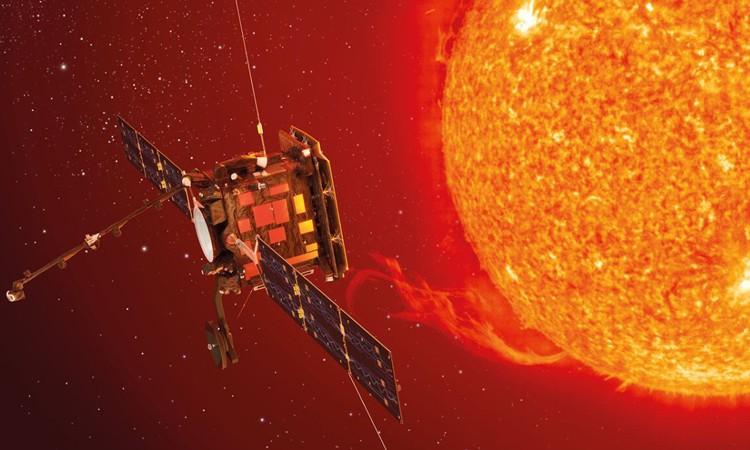 Solar Orbiter, vệ tinh nghiên cứu Mặt Trời, tạm thời dừng hoạt động. - Ảnh: ESA.