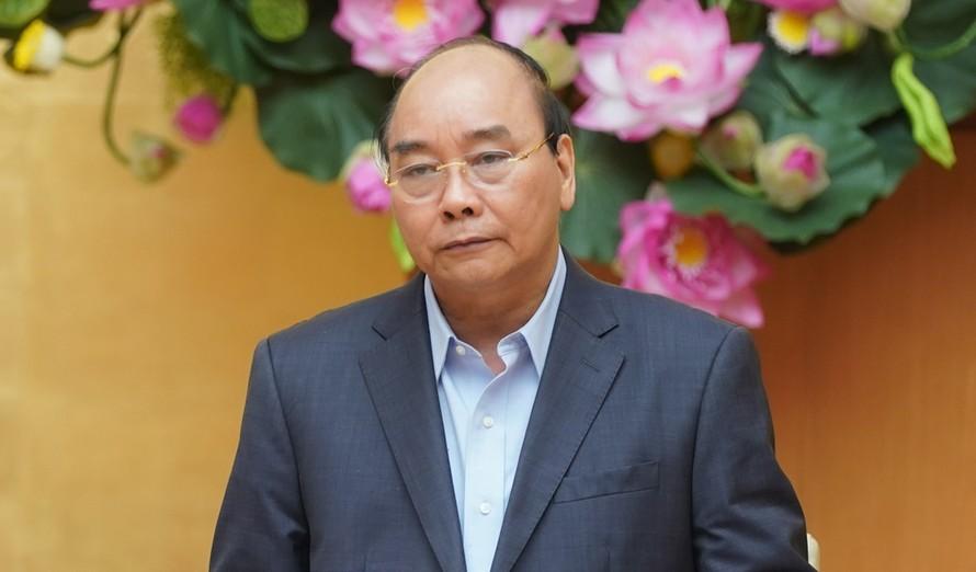 Thủ tướng Nguyễn Xuân Phúc. - Ảnh: VGP
