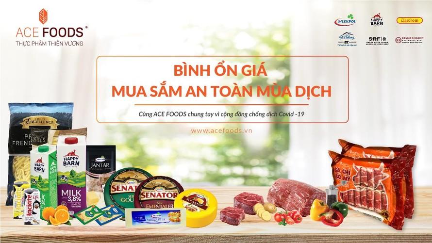 'Bình ổn giá - mua sắm an toàn mùa dịch' - ACE Foods đồng hành với người tiêu dùng