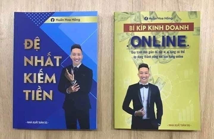 """2 cuốn sách gây xôn xao của Huấn """"Hoa Hồng""""."""