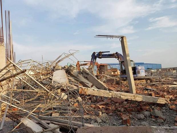 10 người chết, nhiều người bị chôn vùi do sập tường đang xây ở Đồng Nai