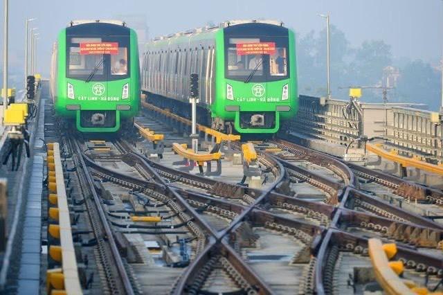 Tuyến đường sắt Cát Linh - Hà Đông nhiều lần lỡ hẹn vận hành thương mại với người dân Thủ đô. - Ảnh: Dân Trí