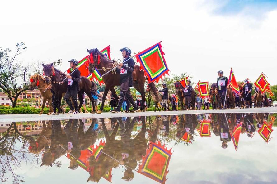 Giải đua Vó ngựa trên mây được tổ chức lần thứ 3 tại Sa Pa