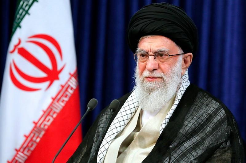 Nhà lãnh đạo tối cao Iran Ayatollah Ali Khamenei. - Ảnh: AP