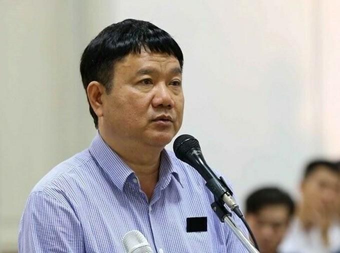 Ông Đinh La Thăng trong lần ra tòa tại Hà Nội năm 2018. - Ảnh: TTXVN.