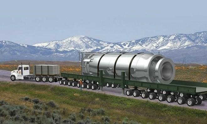 Lò phản ứng hạt nhân cỡ nhỏ công suất 50 megawatt
