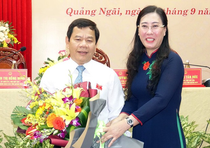 Ông Đặng Văn Minh được bầu vào chức danh Chủ tịch UBND tỉnh Quảng Ngãi