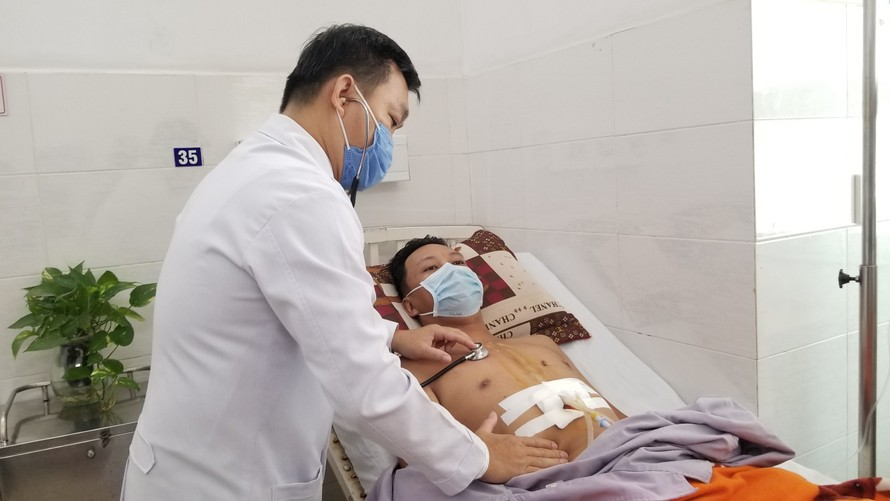 Bệnh nhân đã được cứu sống ngoạn mục