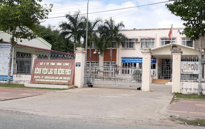 BN 1440 đang cách ly và điều trị tại Bệnh viện Lao và Bệnh Phổi Vĩnh Long. - Ảnh: Tiền Phong