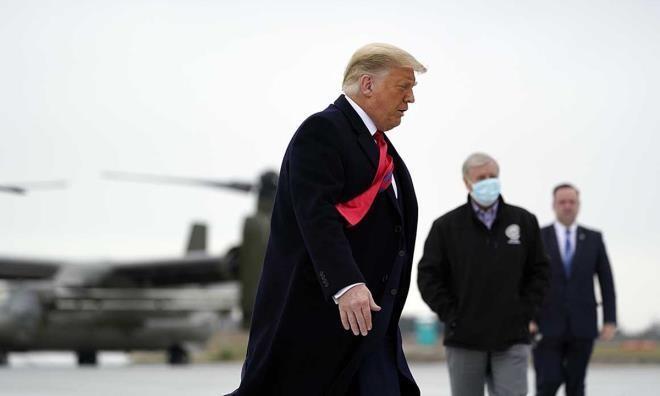 Cựu Tổng thống Mỹ Donald Trump. - Ảnh: AP