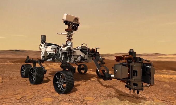 Robot Perseverance sẽ giúp các nhà khoa học nghe thấy âm thanh ngoài hành tinh. - Ảnh: NASA.