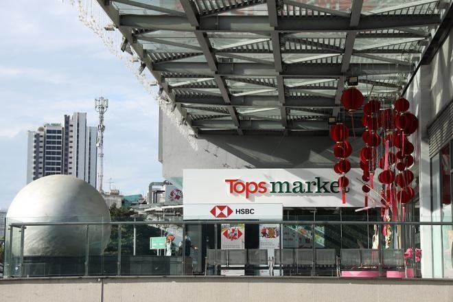 Big C Thảo Điền đã được đổi tên thành Tops Market. - Ảnh: Central Retail.