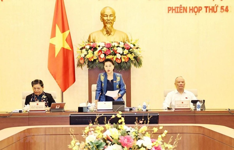 Chủ tịch Quốc hội Nguyễn Thị Kim Ngân. (Ảnh: TTXVN)