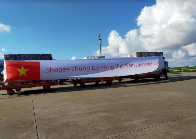 Shopee và Garena đồng hành cùng tuyến đầu chống đầu chống dịch tại Thành phố Hồ Chí Minh