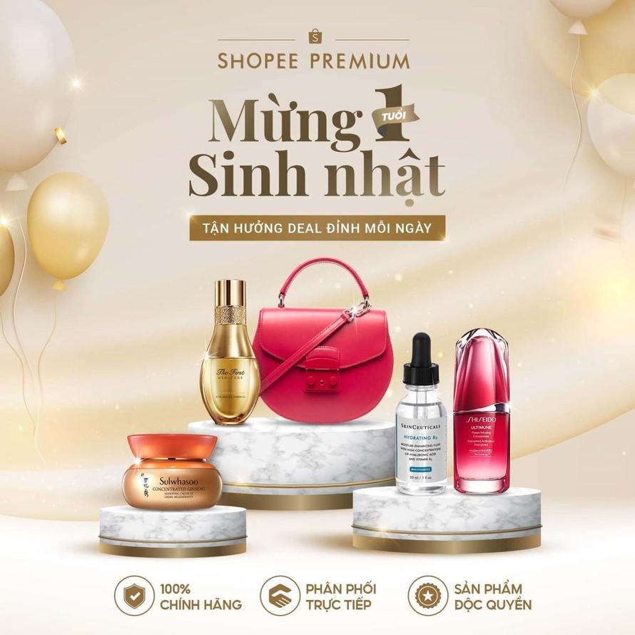 Mừng sinh nhật 1 tuổi, Shopee Premium ưu đãi đặc biệt trong ngày 10.10