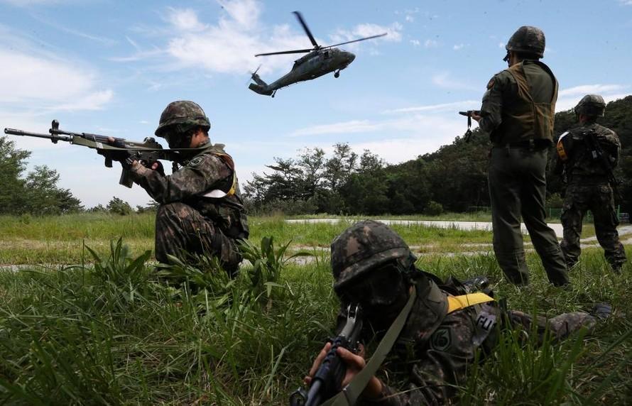 Tập trận hàng năm giữa Mỹ - Hàn đã kết thúc