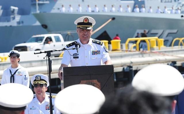 Tư lệnh Hải quân Trung Quốc tới Mỹ vào tháng tới