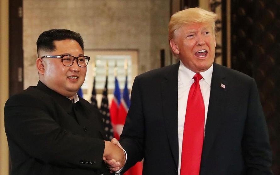 Tổng thống Trump gọi chủ tịch Kim là 'người bạn của tôi'