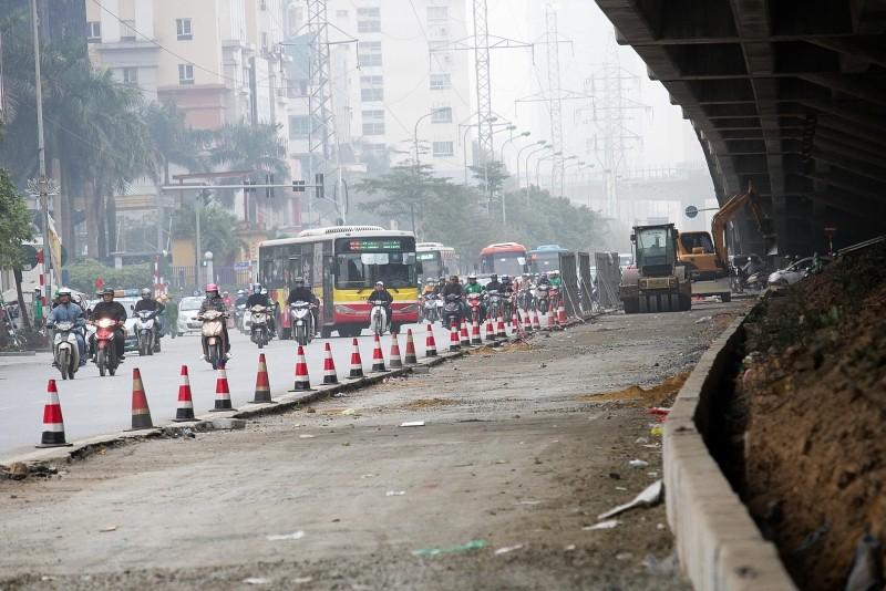 47 công trình đường phố của Hà Nội sắp được mở rộng, cải tạo, sửa chữa.