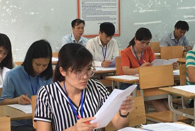 Chấm thi THPT 2019 tại Lai Châu