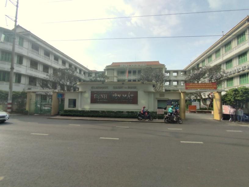 Bệnh Viện Mắt Thành Phố Hồ Chí Minh (Quận 3, TP.HCM). Ảnh: Tiến Đạt