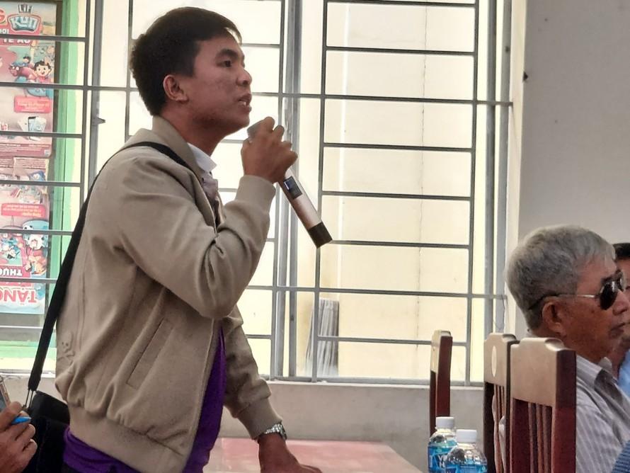 Anh Nguyễn Văn Nhanh cho biết, đã gửi đơn tố cáo đến ông Vũ Hồng Văn (Giám đốc công an tỉnh Đồng Nai).