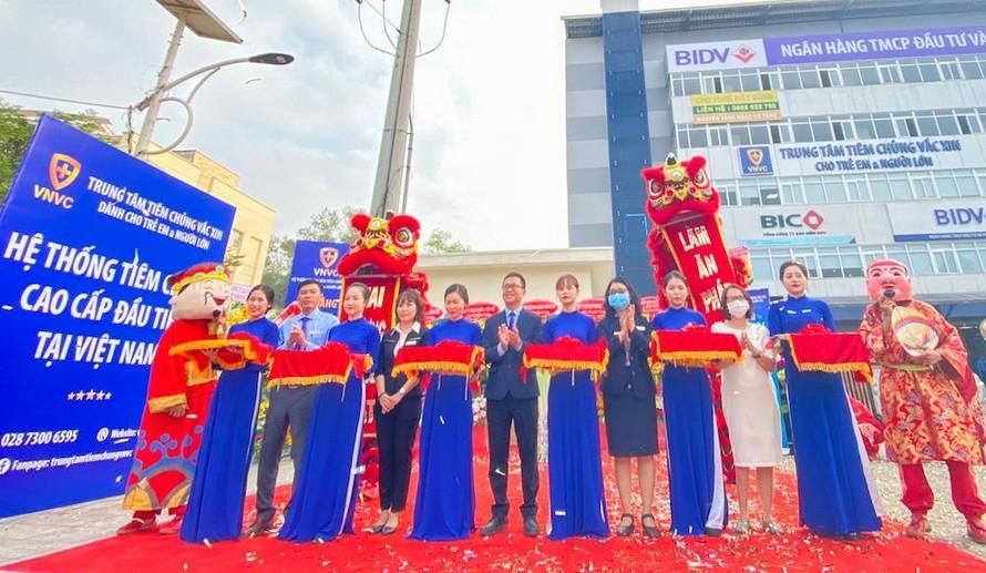 VNVC khai trương trung tâm tiêm chủng thứ 3 tại Đồng Nai.