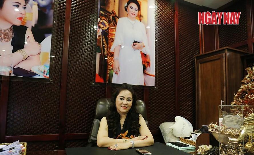 """Bà Nguyễn Phương Hằng, vợ đại gia Dũng """"Lò vôi"""" tố ông Võ Hoàng Yên lừa đảo."""