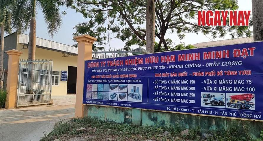 Dự án chống sạt lở đồi Phú Sơn do Công ty TNHH Minh Minh Đạt làm chủ đầu tư nhiều lần xảy ra sạt lở khiến dư luận bất xúc.