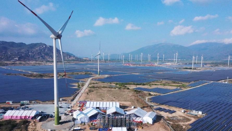 Trung Nam Group khánh thành Nhà máy điện gió lớn nhất Việt Nam
